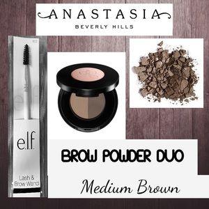ANASTASIA Brow Powder Duo and Elf Brow Brush NEW
